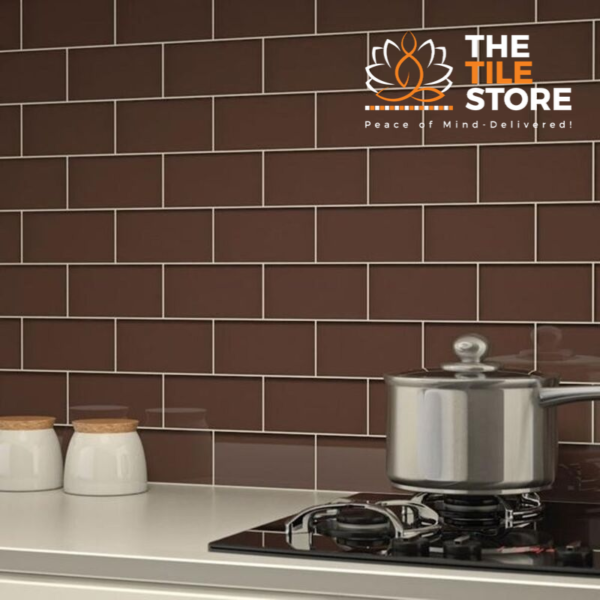 ORIENT BELL CLASSIC BROWN GLOSSY WALL TILE